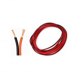 Cable Para Audio 10M 2X0.5Mm Bicolor Rojo-Negro 7Hsevenon Elec