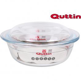 Fuente de Cocina Quttin Cristal Redonda