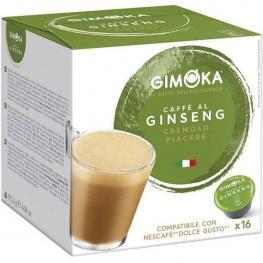 Café Al Ginseng Gimoka Dolce Gusto Compatibles 16 Cápsulas