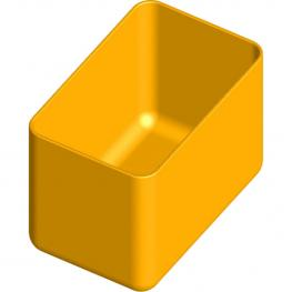Caja En Polipropileno 90X57 H 64 Mm Organizador de Plástico