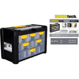 Caja Herramientas C/organiz.40X20X26Cm Bricotech