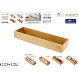 Caja Ordenacion Bambu 32X9X5Cm