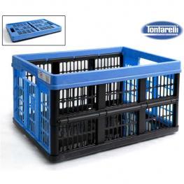 Caja Multiusos Tontarelli 45 L Plegable Plástico (53 X 37 X 27 Cm)