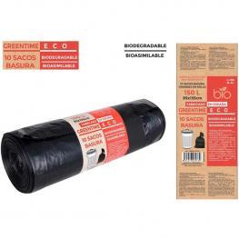 Sacos Basura 95X135 G180 150 L Biodegradables