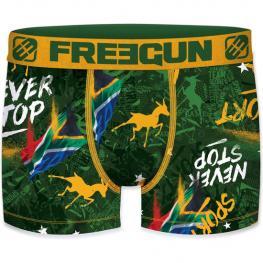 Calzoncillo Boxer Freegun Color Verde Para Niño