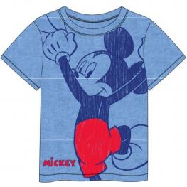 Camiseta Corta Single Jersey Mickey // Talla 4 Años