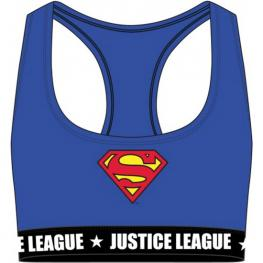 Top Deportivo Para Mujer - Azul - Con Logo En Color