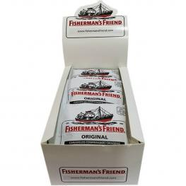 Caramelos Mentol-Eucalipto Originales, Caja 12X25G Fishermans Friends