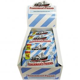 Caramelos Mentol-Eucalipto Sin Azúcar, Caja 12X25G Fishermans Friends