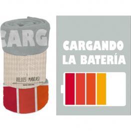 Manta Coralina 120X160 Cms. Baggy Batería