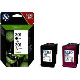 Cartuchos de Tinta Hp 301 Negro + Tricolor