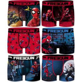 Pack 3Pcs Infantil Surtido Spiderman Freegun