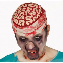 Cerebro Zombie Para Maquillarse En Halloween