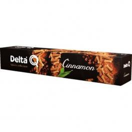 Cinnamon, 10 Cápsulas Delta Q Espresso Con Canela