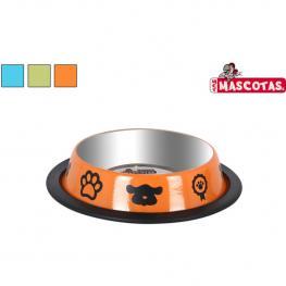 Comedero Perros 16,5X3Cm Mascotas - Colores Surtidos