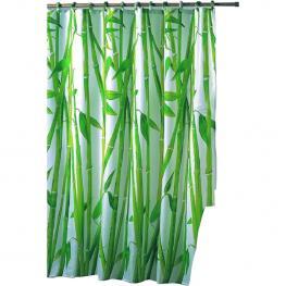 Cortina de Bano Bambu 100% Polyester 180*200 Cm Anti-Bacterias + Antimohos