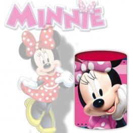 Cubo Portalápices En Expositor Minnie