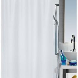 Spirella Primo Cortina de Ducha 180 X 200 100% Polyester Blanco