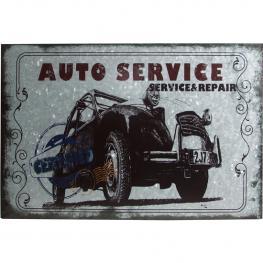 Cuadro Auto Service Hierro Galvanizado