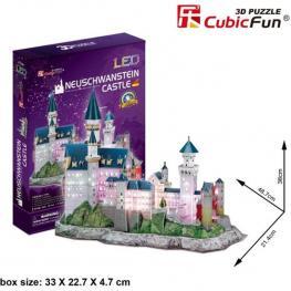 Puzzle 3D Neuschwanstein Castle