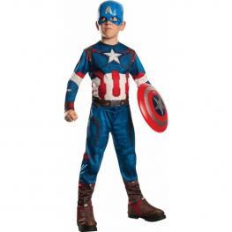 Disfraz Capitan America Classic Av2 Infantil