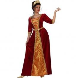 Disfraz Doncella Medieval M/l