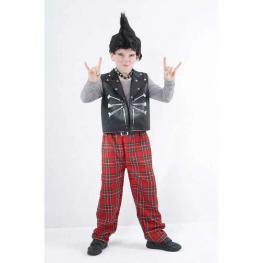 Disfraz Niño Punky Talla M