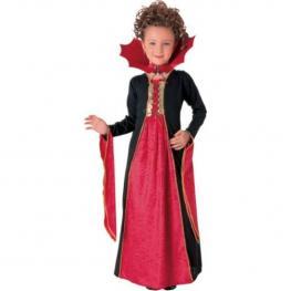Disfraz Vampiresa Gotica Roja Infantil