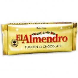 El Almendro Turron de Chocolate Crujiente 285 Gr Calidad Suprema