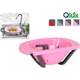 Escurridor Plástico Extensible Qlux - Colores Surtidos