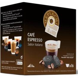 Espresso Mepiachi, 16 Cápsulas Compatibles Dolce Gusto