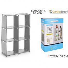 Estanteria 73X29X108Cm Confortime