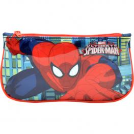 Estuche Tela Plano Spiderman