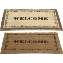 Felpudo Diseño Welcome Claro