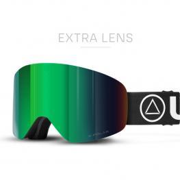 Gafas de Esquí Freeride V2 Negro / Verde