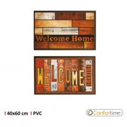 Felpudo Multiuso Pvc 40X60Cm Printed Confortime - Diseños Surtidos