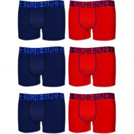 Set 6 Boxers Básicos Freegun - Multicolor