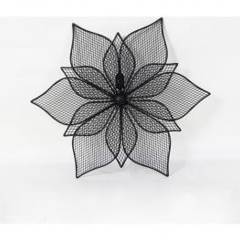 Figura Flor 34Cm - Hierro
