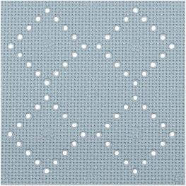 Alfombrilla de Ducha 32 X 23,pvc,gris