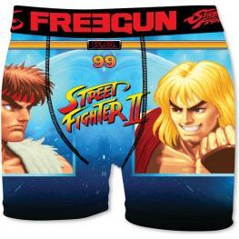 Boxer Unitario Infantil Street Fighter Freegun