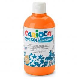 Tempera - Botella 500 Ml- Naranja