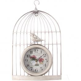 Reloj Jaula Blanco