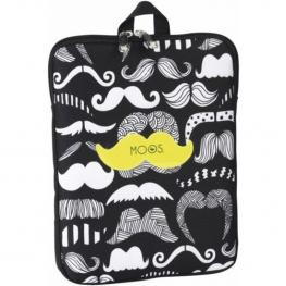 Funda Para Ordenador Portatil 10,6 Moos Diseño Moustache