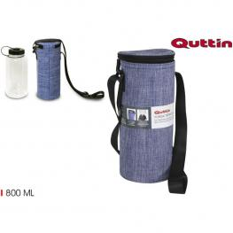 Funda Termica Con Botella Jeans 800Ml Quttin