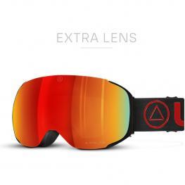 Gafas de Esquí Helix Negro / Rojo