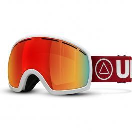 Gafas de Esquí Vertical Blanco / Rojo