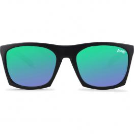 Gafas de Sol Barrel Negro / Verde