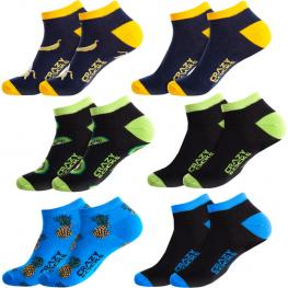 Set 6Pcs Calcetines de Vestir - Tobilleros - Crazy Socks