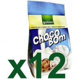 Galletas Gullón Choco Bom Blanco Caja 12 X 100 Gr