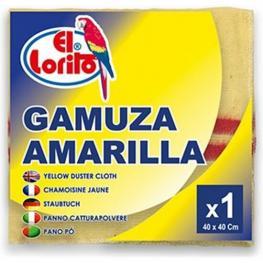 Gamuza Amarilla 40X40Cm